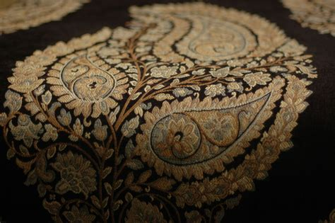 Black Chenille Upholstery Fabric by Black Gold Chenille Upholstery Fabric 2 75 Yds Ebay