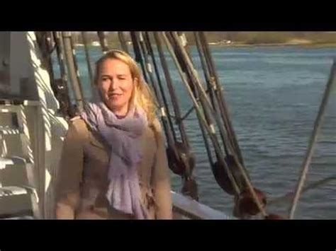 falling out of boat funny dutch reporter falls off boat into water funny scene