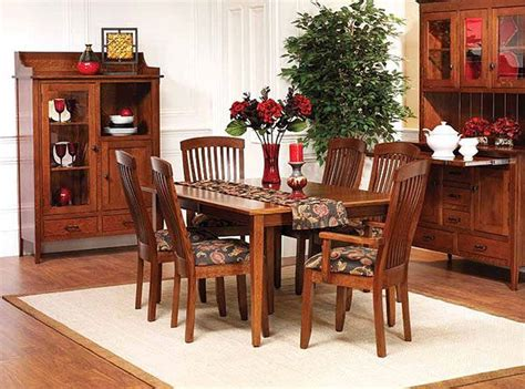 Shaker Dining Room Set Newport Shaker Dining Room Set Walnut Creek Furniture