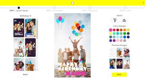 How To Create Your Own Geofilters For Snapchat Free Snapchat Geofilter Template