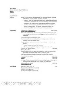Route Sales Sle Resume by Route Sales Resume Sales Sales Lewesmr