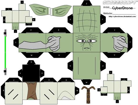 Wars Paper Craft - cubeecraft wars papercraft craft and paper toys