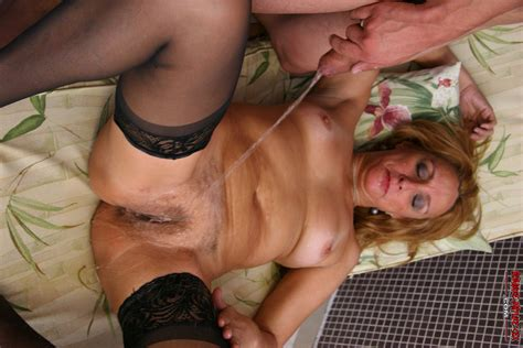 horny Mature Slut In Sucking Fucking And Pissing Action