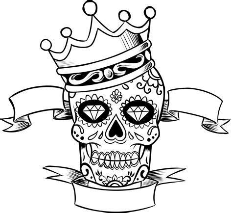 Sugar Skull Clipart Free