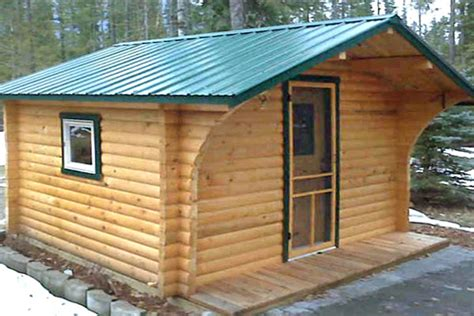 10x12 Cabin by Logs Log Siding Rouck Bros Log Homes