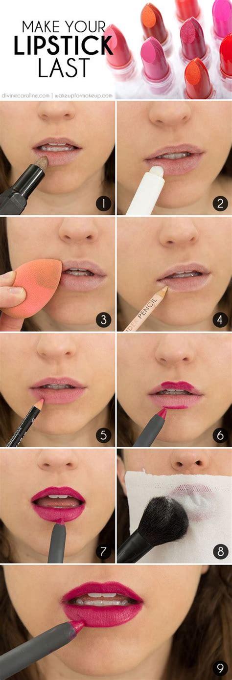Lipstik Make Secret by Make Your Lip Color Last The Secret To Lasting