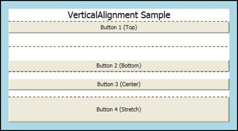 layout manager vertical alignment alignment margins and padding overview microsoft docs