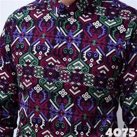 Rajut Peria Murah Jeff Tribal baju batik pria lengan panjang caleb batik tribal terbaru harga murah depok dijual tribun