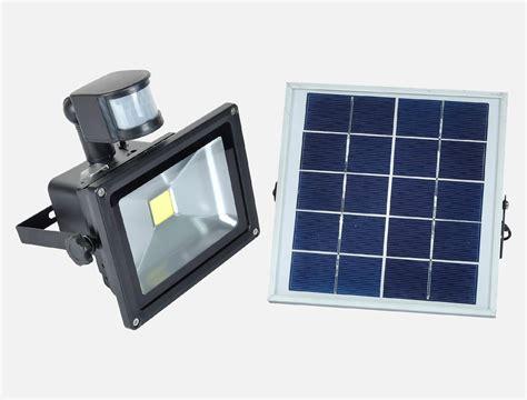 diy solar flood light 20w led cob solar flood light with pir sensor mw sfl 20a