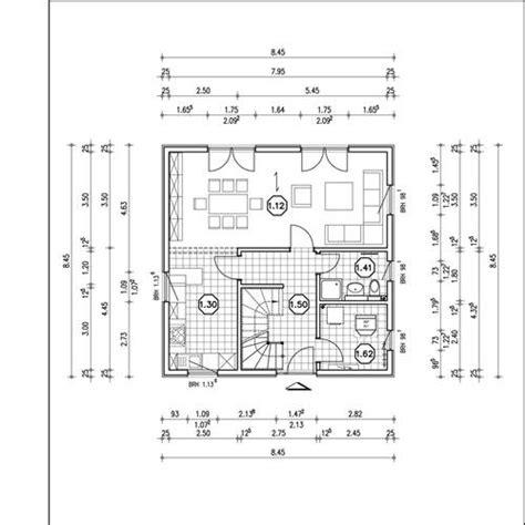Villa Grundriss 2 Stöckig by Bauplan Einfamilienhaus Einfamilienhaus Mit Glasfassade