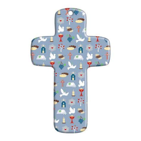 Le Comptoir Religieux by Croix Bois Quot Symboles Religieux Quot Bleu Comptoir