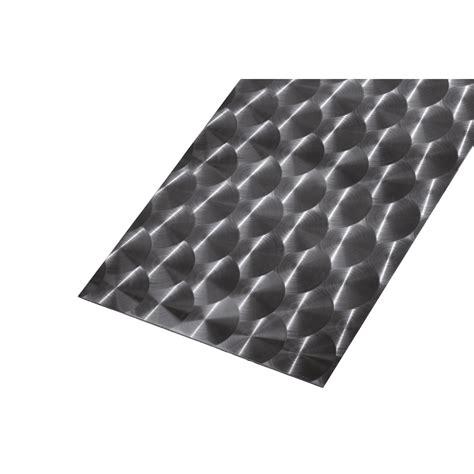 t 244 le lisse en acier inoxydable brillant 100 cm x larg 60 cm x 233 p 0 8 mm leroy merlin