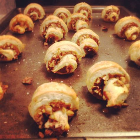 printable appetizer recipes pumpkin rugelach appetizers things i made today