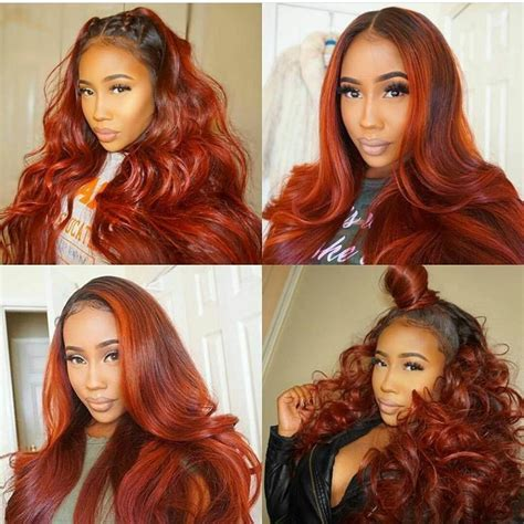 sew in bobs hairstyles in auburn colors 17 best images about hair on pinterest protective styles