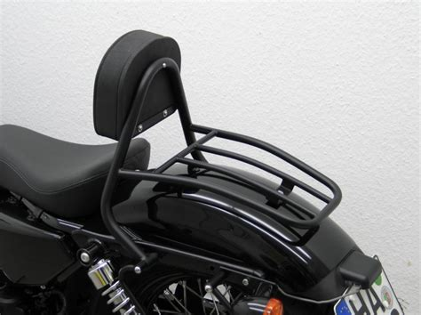 Harley Davidson Backrest And Luggage Rack by Harley Davidson Sportster 48 Driver Backrest And Luggage