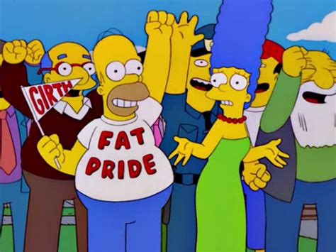 lessons  simpsons taught   fatness man  fat