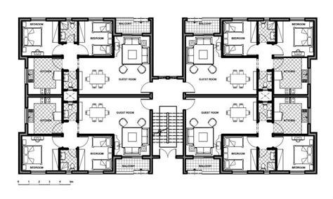 apartment building floor plan with size petition