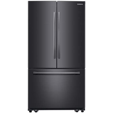 door fridge with maker shop samsung 25 5 cu ft door refrigerator with