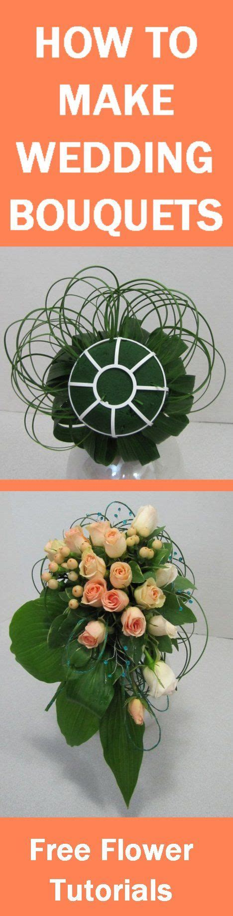 Wedding Bouquet Tutorial by How To Make Wedding Bouquets Free Flower Tutorials Learn