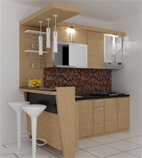 desain dapur minimalis dengan meja bar kitchenset pelangi desain interior meja bar kecil