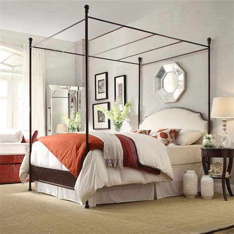 poster canopy bed canopy bed look 4 less and steals and deals