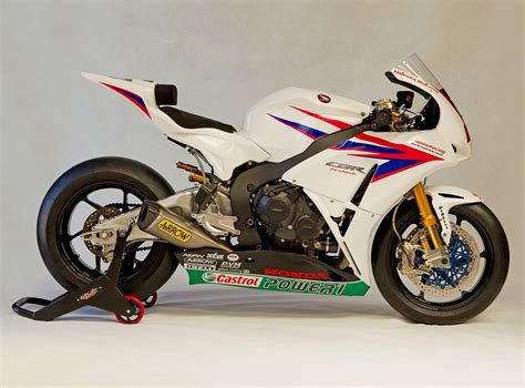 Racing Caf 232 Honda Cbr 1000 Rr Honda Superbike Team 2012