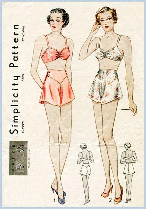 pattern tap alternative best 25 vintage underwear pattern ideas on pinterest