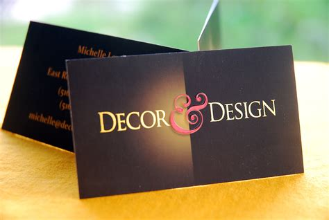 Design Business Cards At Home by Interior Design Business Card Slim Image