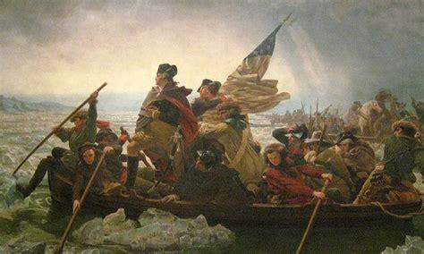 george washington prepares to cross the delaware again wnyc - George Washington Painting Boat