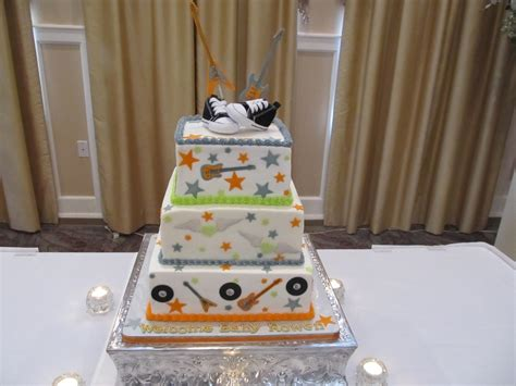 Rock And Roll Baby Shower by Rock And Roll Baby Shower Cake Www Imgkid The