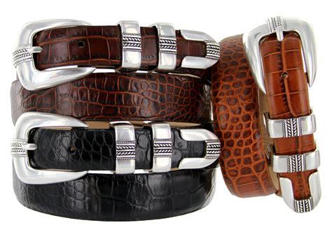the norris italian calfskin leather designer dress belt