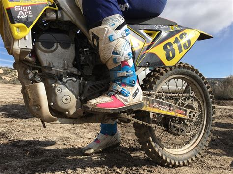 motocross boot reviews sidi x 3 lei women s mx boots product review cycle news