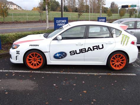 subaru customer daily driver rally car