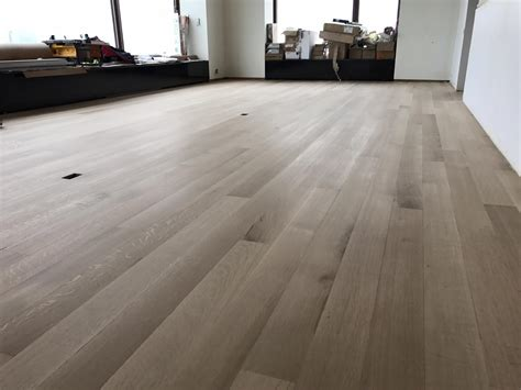 Wood Flooring Chicago by Whitewashed Hardwood Floor White Oak In Chicago Tom