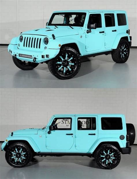 4 door tiffany blue jeep best 25 jeep wrangler four door ideas on pinterest four