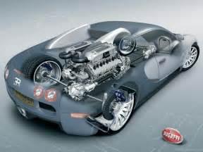 Bugatti Parts Bugatti Veyron 16 4 Car Cutaway Modern Racer Features