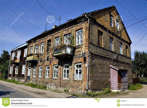 polish house plans old polish house stock image image 3303611