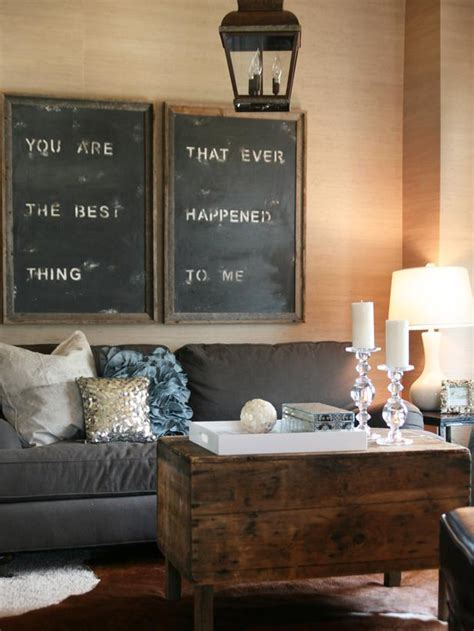 chalkboard in living room 15 almost free living room updates living room and dining room decorating ideas and design
