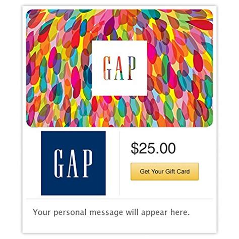 Gap Gift Card Online Uk - gap gift cards e mail delivery