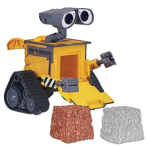 wall e figure toys wall e cube and stack deluxe figure thinkway toys