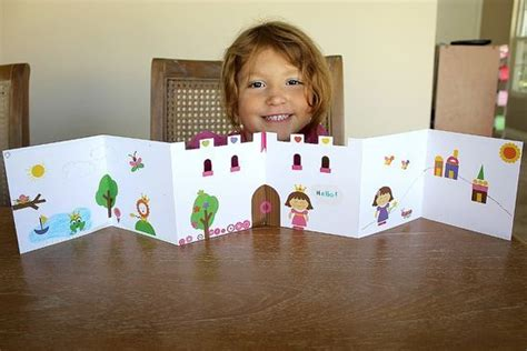 Handmade Tale - handmade book ideas the castle for tale