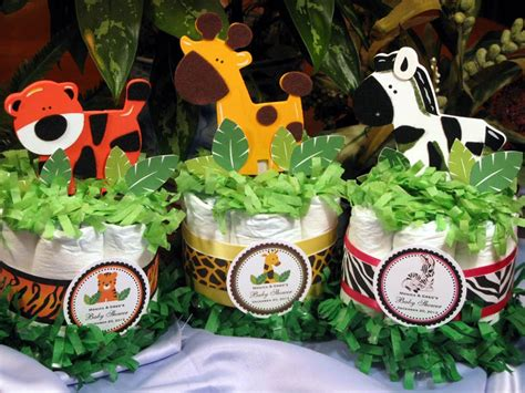 baby shower jungle theme decorations jungle safari baby shower cake centerpieces by