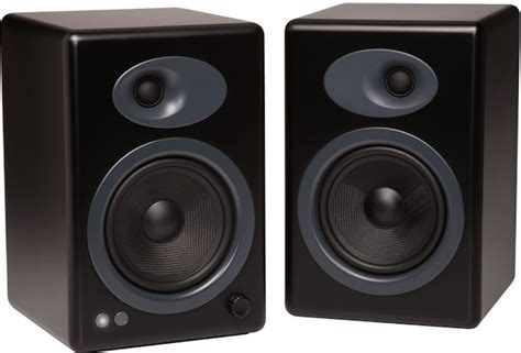 audioengine debuts a5 powered bookshelf speakers avrev