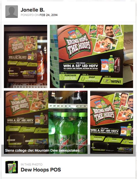 Mountain Dew Sweepstakes 2014 - pepsico leverages retailers for bring home the hoops promoboxx