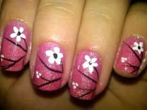flower nail art designs acrylic nail designs