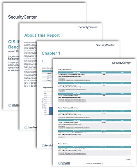 Cis Report Template Cis Ibm Benchmark Reports Sc Report Template Tenable