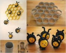 Bee Home Decor Toilet Paper Roll Ideas For Your Wall Decor Creative Ideas
