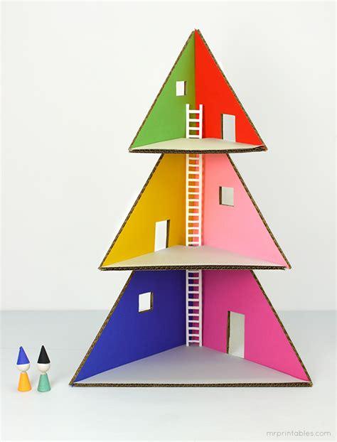 doll house christmas tree diy christmas tree doll house kidsomania