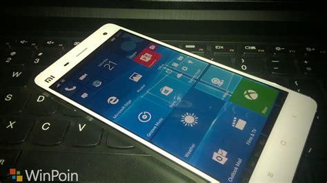 install windows 10 xiaomi mi4 beginilah cara instal windows 10 mobile di xiaomi mi4 lte