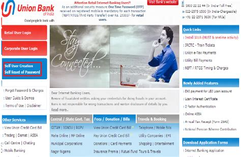union bank account opening union bank of india net banking account opening can